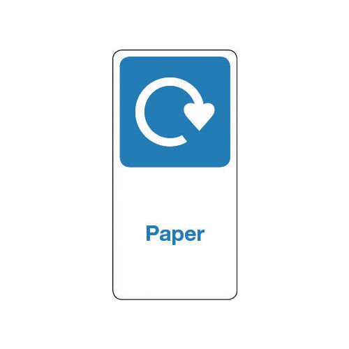 Sign Paper Vinyl Roll Of 100  HxW: 100x50