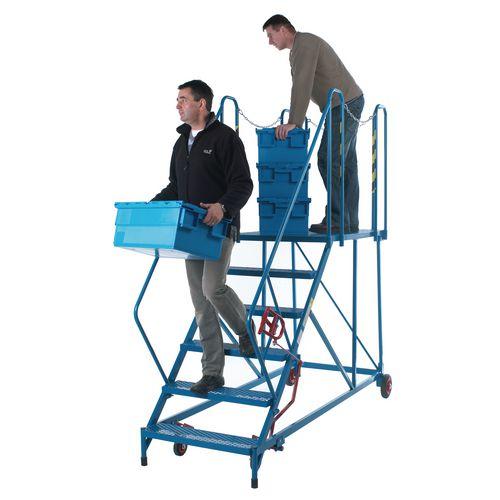 Easy Slope Access Platform 1690mm Blue