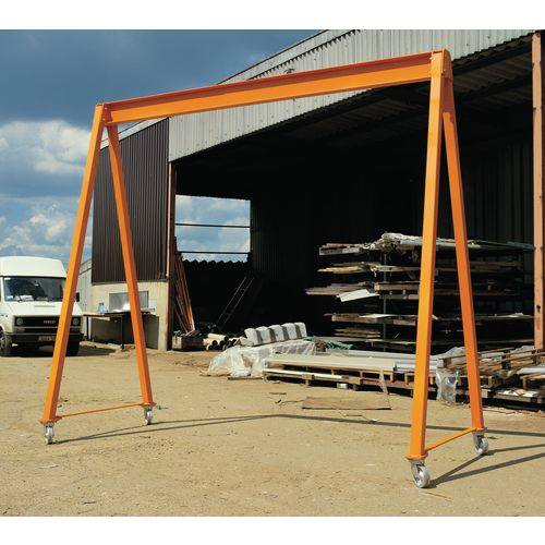 Light Duty Gantry 3000x3000mm 500 Kg Capacity