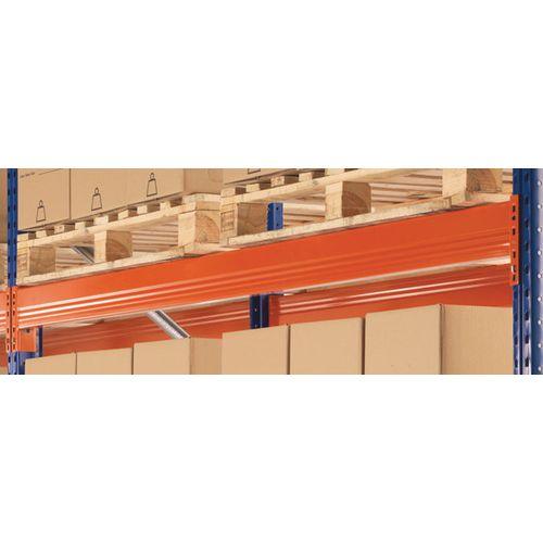 Pair Of Pallet Racking Beams 2700X100X40 2000Kg Capacity