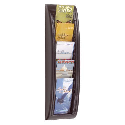 Fast Paper Q-Fit Black Display 5 DL Size Pockets