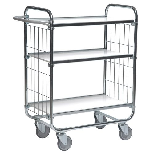 Flexible 3 Shelf Trolley