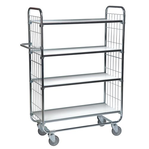 Flexible 4 Shelf Trolley
