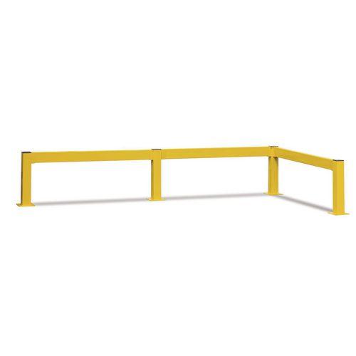 Lift Out Barrier Standard Post 80x80 500 Yellow
