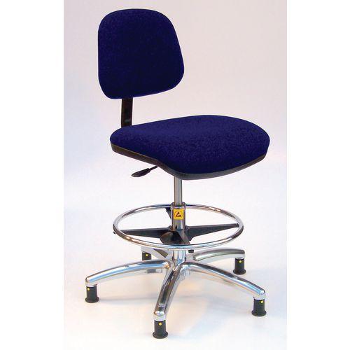 As6/H Chair Blue Fabric