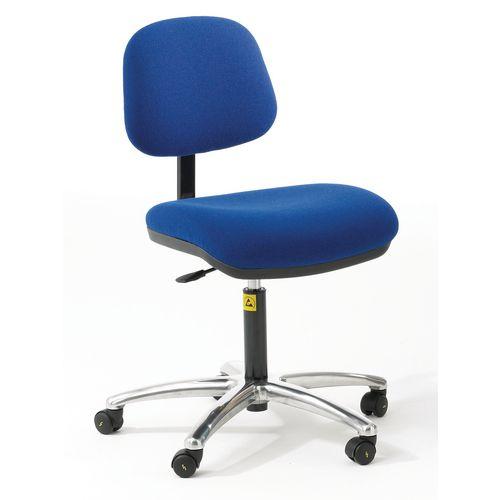As6 Chair Blue Fabric