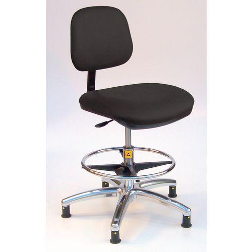 As6/H Chair Black Vinyl