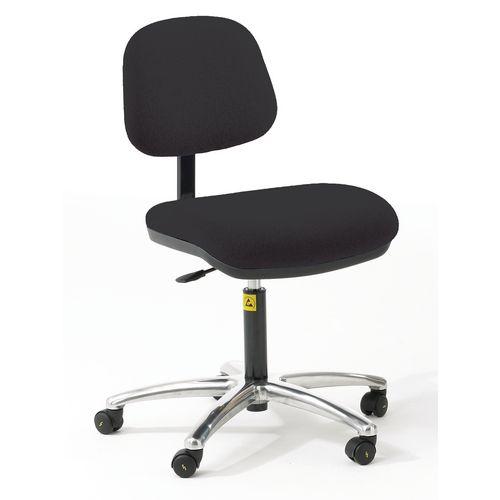 As6 Chair Black Vinyl