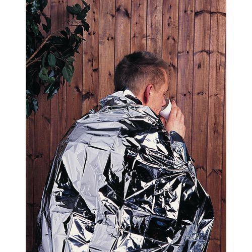 Disposable Heat Retaining Foil Blanket Pack 1