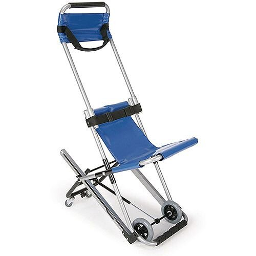 Saver Safe Evacuation Chair Blue Lightweight Max 180kg Ref 381877