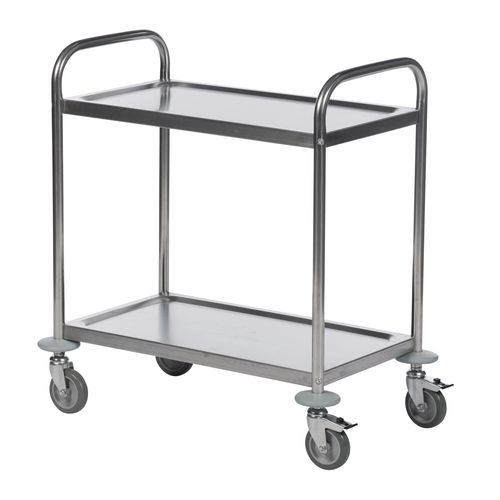 Stainless Steel Trolley 2 Shelf