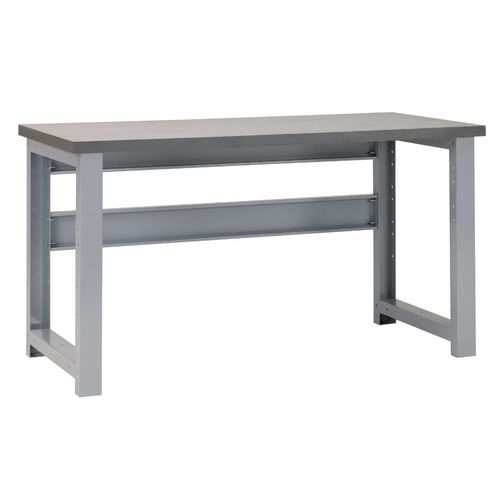 Premier 2 Workbench 1500(L)x700(W)x840(H) Grey Lino Worktop