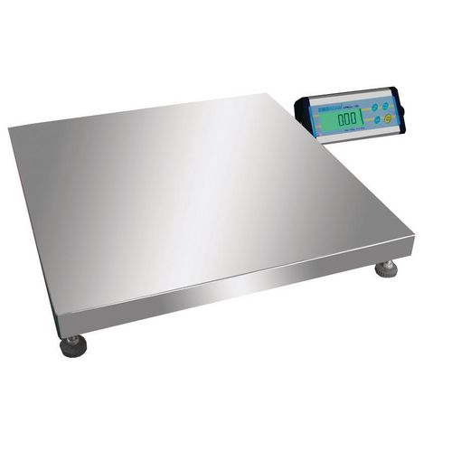Multi-Purpose Industrial Platform Weighing Scales 150Kg Capacity With 50G Readability 500 x 500mm