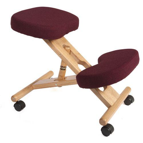 Kneeling Chair Burgundy
