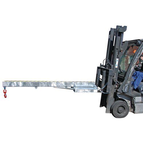Rigid Crane Arm 2400mm Long,1000Kg Capacity