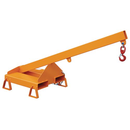 Rigid Inclined Crane Arm 1600mm Long,1000Kg Capacity