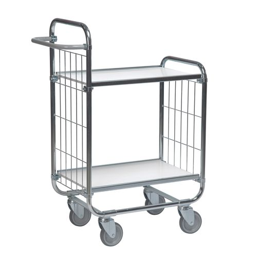 Flexible Shelf Trolley 1395x470x1120 with 2 Shelves