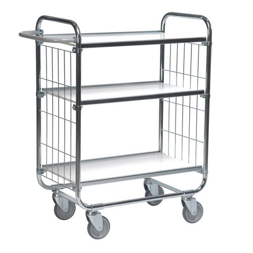 Flexible Shelf Trolley 1395x470x1120 with 3 Shelves