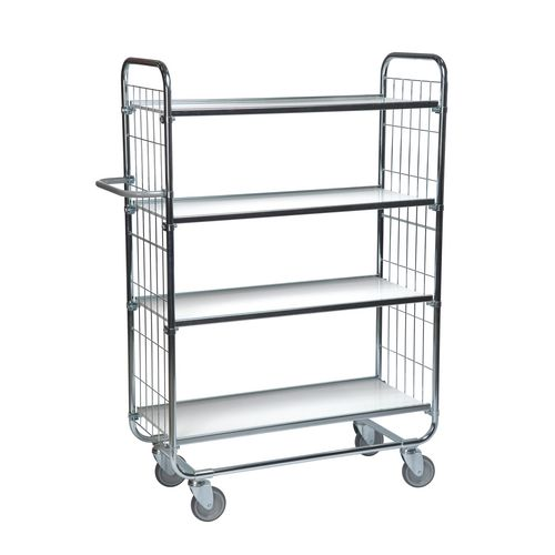 Flexible Shelf Trolley 1395x470x1590