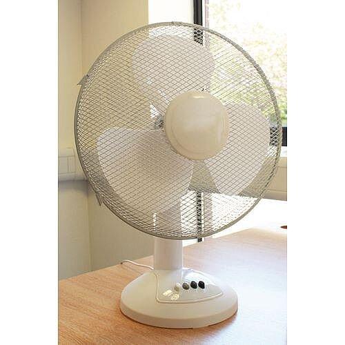 Oscillating Desk Fan 16 In