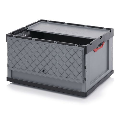 800x600x445 mm Folding Box With Attached Lid