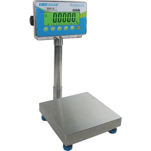 Stainless Steel Ip66 Wash Down Scale 75Kgx1G 400x500mm