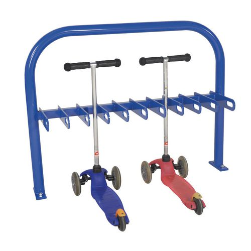 Scooter Rack  Double Sided  Dark Blue  20Xscooter