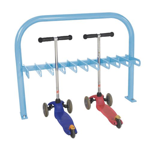 Scooter Rack  Double Sided  Light Blue  20Xscooter