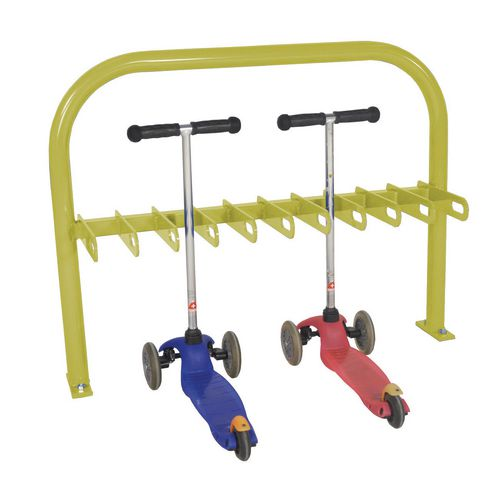 Scooter Rack  Double Sided  Yellow  20Xscooter