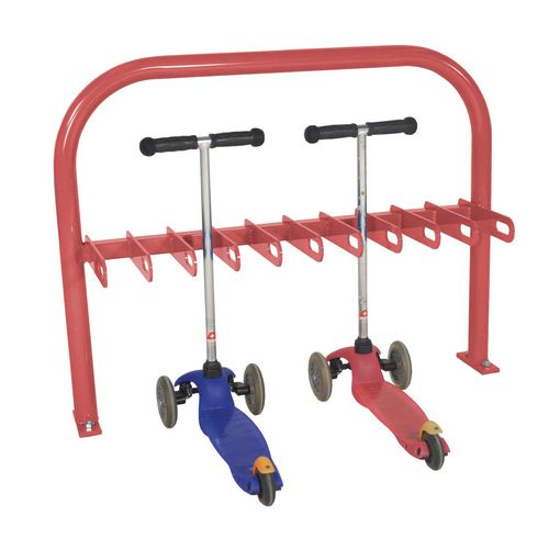 Scooter Rack  Double Sided  Red  20Xscooter