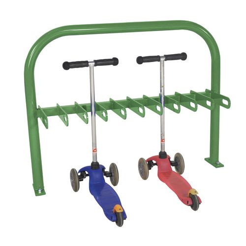 Scooter Rack  Double Sided  Green  20Xscooter
