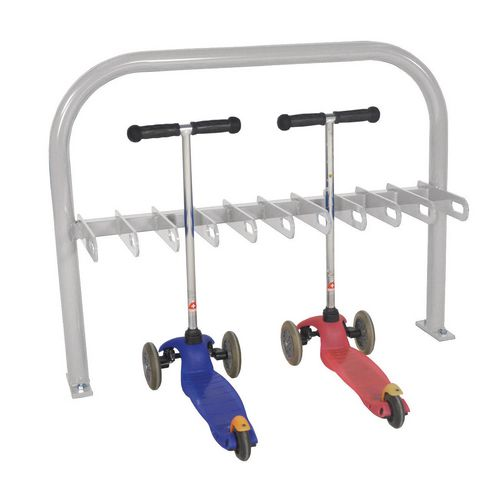 Scooter Rack  Double Sided  Grey  20Xscooter