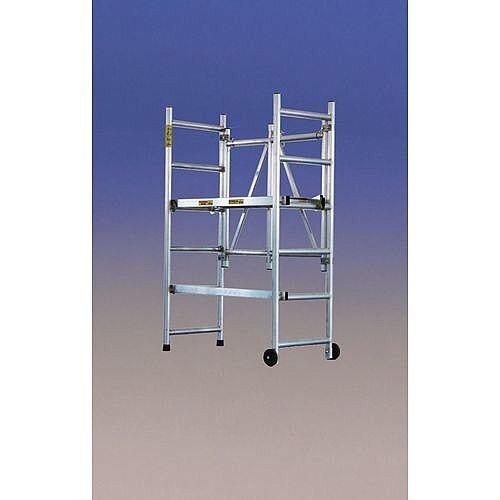 Foldable Mobile Scaffold Platform Height 1 6m Lightweight