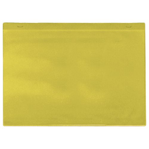 Self-Adhesive Yellow Document Pocket Id 215X310mm