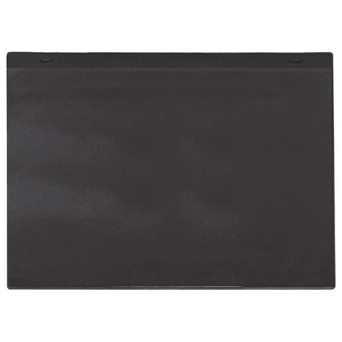 Self-Adhesive Black Document Pocket Id 155X230mm