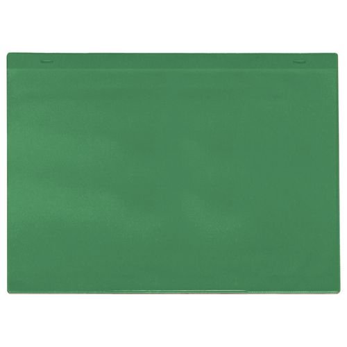 Self-Adhesive Green Document Pocket Id 155X230mm