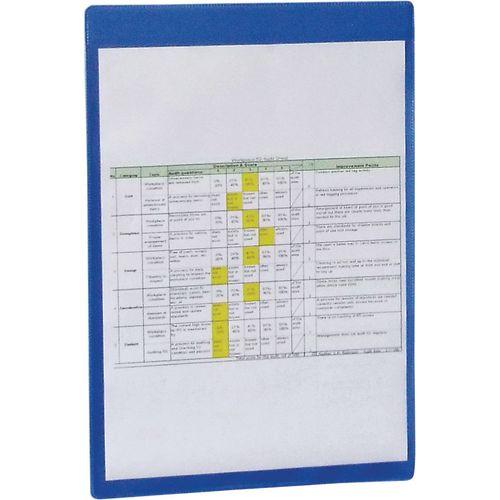 Magnetic Blue Document Pocket Id 310X215mm