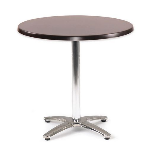 Spectrum Circular Table 700mm Dia Tilt Top Black