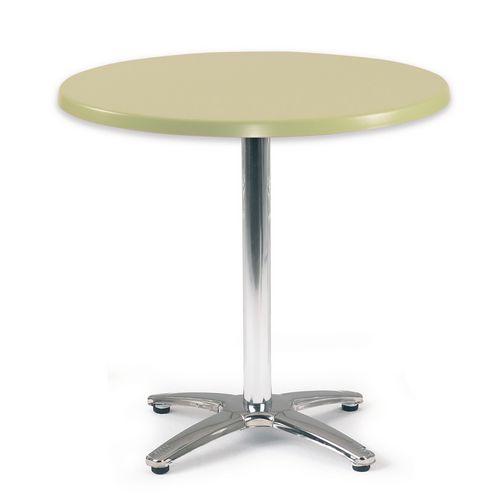 Spectrum Circular Table 700mm Dia Tilt Top Light Green
