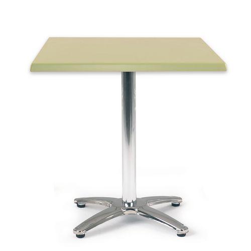 Spectrum Square Table 700X700mm Tilt Top Light Green