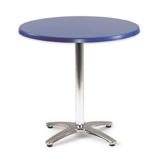 Spectrum Circular Table 700mm Dia Dark Blue