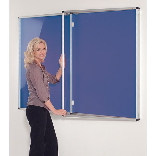 Tamperproof Noticeboards 1200X900 Blue Board