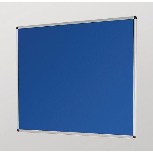 Aluminium Framed Noticeboards 1200X1500 Blue Board
