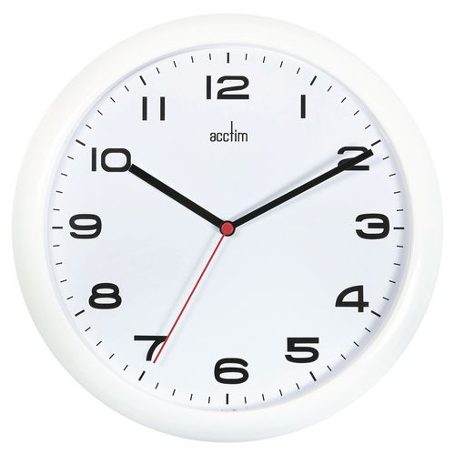 Aylesbury White Wall Clock