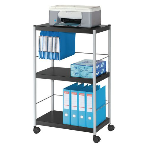 Large All-Purpose Three Shelf Trolley