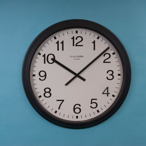 92Cm Quartz Clock With Shatterproof Front Lens