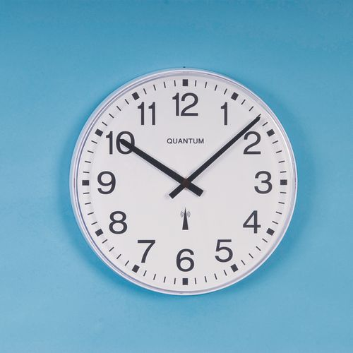420mm Dia. Radio Controlled Clock With Extended Battery Life