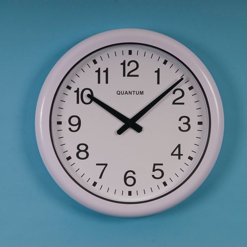 410mm Dia. Radio Controlled Weatherproof Clock
