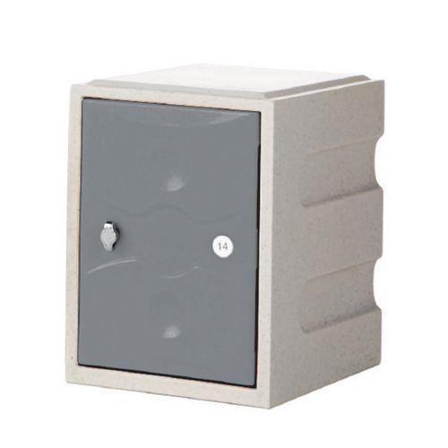 1 Door Mini Plastic Locker Plus Waterproof Red Door