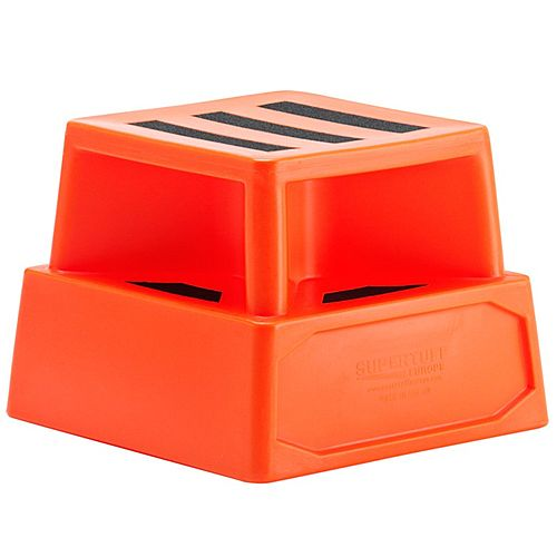 Heavy Duty Plastic Step Red